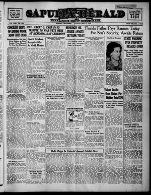 Primary view of Sapulpa Herald (Sapulpa, Okla.), Vol. 23, No. 229, Ed. 1 Tuesday, May 31, 1938