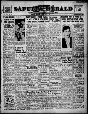 Primary view of Sapulpa Herald (Sapulpa, Okla.), Vol. 23, No. 256, Ed. 1 Friday, July 1, 1938