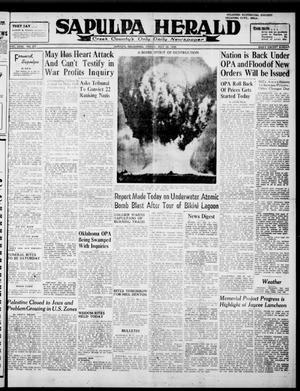 Primary view of Sapulpa Herald (Sapulpa, Okla.), Vol. 31, No. 277, Ed. 1 Friday, July 26, 1946