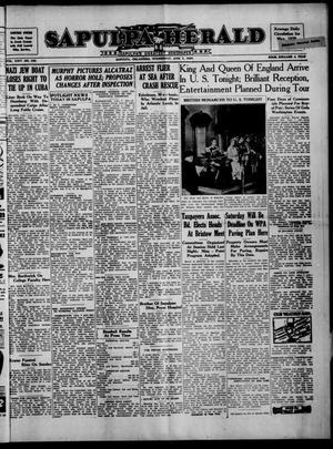 Primary view of Sapulpa Herald (Sapulpa, Okla.), Vol. 24, No. 235, Ed. 1 Wednesday, June 7, 1939