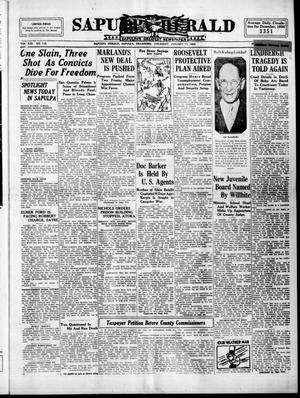 Primary view of Sapulpa Herald (Sapulpa, Okla.), Vol. 21, No. 115, Ed. 1 Thursday, January 17, 1935