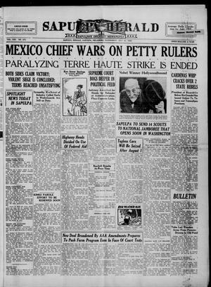 Primary view of Sapulpa Herald (Sapulpa, Okla.), Vol. 21, No. 274, Ed. 1 Wednesday, July 24, 1935