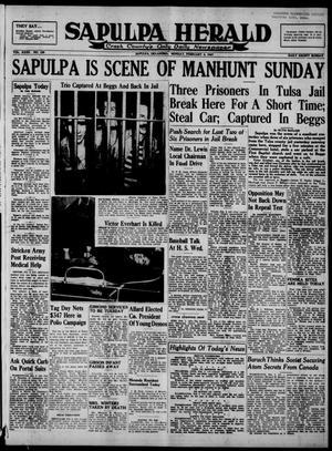Primary view of Sapulpa Herald (Sapulpa, Okla.), Vol. 32, No. 129, Ed. 1 Monday, February 3, 1947