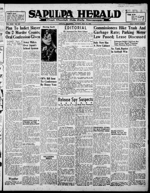 Primary view of Sapulpa Herald (Sapulpa, Okla.), Vol. 31, No. 268, Ed. 1 Tuesday, July 16, 1946