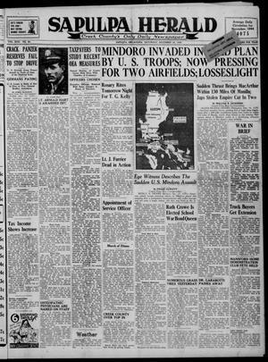 Primary view of Sapulpa Herald (Sapulpa, Okla.), Vol. 30, No. 90, Ed. 1 Saturday, December 16, 1944