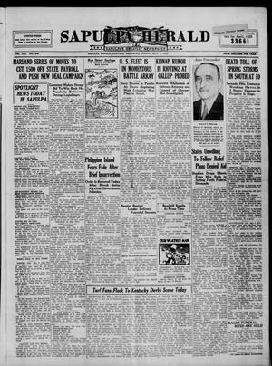 Primary view of Sapulpa Herald (Sapulpa, Okla.), Vol. 21, No. 206, Ed. 1 Friday, May 3, 1935