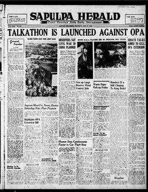 Primary view of Sapulpa Herald (Sapulpa, Okla.), Vol. 31, No. 253, Ed. 1 Thursday, June 27, 1946