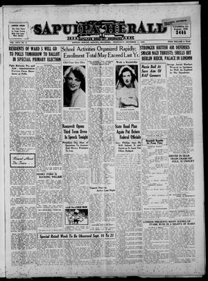 Primary view of Sapulpa Herald (Sapulpa, Okla.), Vol. 26, No. 8, Ed. 1 Wednesday, September 11, 1940