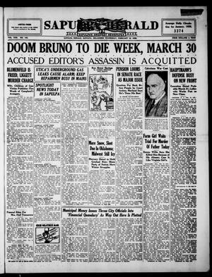 Primary view of Sapulpa Herald (Sapulpa, Okla.), Vol. 22, No. 143, Ed. 1 Wednesday, February 19, 1936