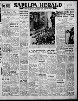 Primary view of Sapulpa Herald (Sapulpa, Okla.), Vol. 30, No. 247, Ed. 1 Thursday, June 21, 1945