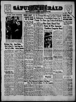 Primary view of Sapulpa Herald (Sapulpa, Okla.), Vol. 28, No. 256, Ed. 1 Thursday, July 1, 1943