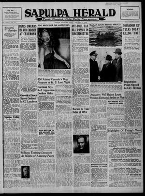 Primary view of Sapulpa Herald (Sapulpa, Okla.), Vol. 33, No. 151, Ed. 1 Friday, February 27, 1948