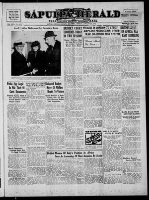 Primary view of Sapulpa Herald (Sapulpa, Okla.), Vol. 26, No. 123, Ed. 1 Monday, January 27, 1941