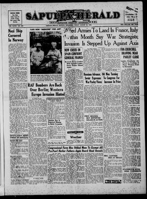 Primary view of Sapulpa Herald (Sapulpa, Okla.), Vol. 28, No. 298, Ed. 1 Friday, August 20, 1943