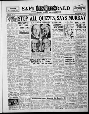 Primary view of Sapulpa Herald (Sapulpa, Okla.), Vol. 19, No. 126, Ed. 1 Monday, January 30, 1933