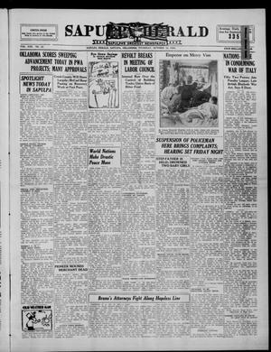 Primary view of Sapulpa Herald (Sapulpa, Okla.), Vol. 22, No. 33, Ed. 1 Thursday, October 10, 1935