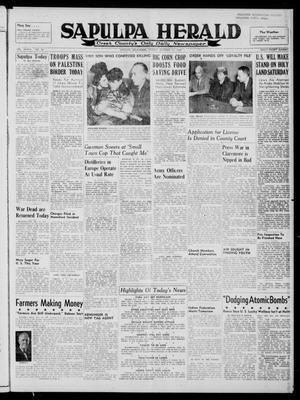 Primary view of Sapulpa Herald (Sapulpa, Okla.), Vol. 33, No. 34, Ed. 1 Friday, October 10, 1947