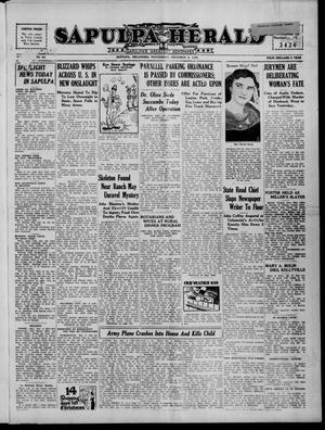 Primary view of Sapulpa Herald (Sapulpa, Okla.), Vol. 23, No. 83, Ed. 1 Wednesday, December 8, 1937