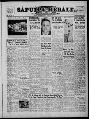 Primary view of Sapulpa Herald (Sapulpa, Okla.), Vol. 25, No. 177, Ed. 1 Friday, March 29, 1940