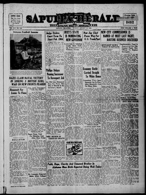 Primary view of Sapulpa Herald (Sapulpa, Okla.), Vol. 25, No. 114, Ed. 1 Tuesday, January 16, 1940