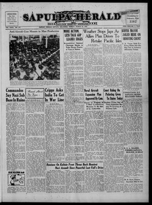 Primary view of Sapulpa Herald (Sapulpa, Okla.), Vol. 27, No. 177, Ed. 1 Monday, March 30, 1942