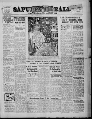 Primary view of Sapulpa Herald (Sapulpa, Okla.), Vol. 24, No. 97, Ed. 1 Saturday, December 24, 1938