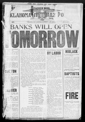 Primary view of Oklahoma City Daily Pointer (Oklahoma City, Okla.), Vol. 2, No. 247, Ed. 1 Friday, November 1, 1907