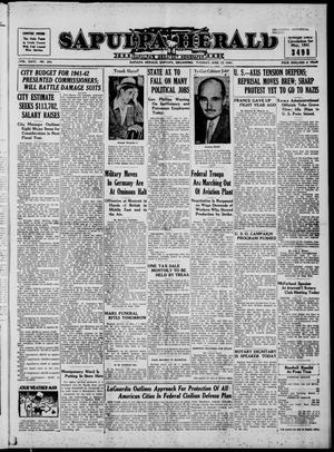 Primary view of Sapulpa Herald (Sapulpa, Okla.), Vol. 26, No. 243, Ed. 1 Tuesday, June 17, 1941