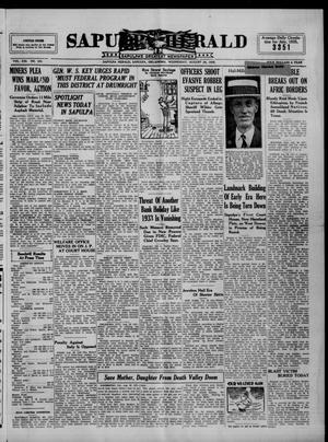 Primary view of Sapulpa Herald (Sapulpa, Okla.), Vol. 21, No. 304, Ed. 1 Wednesday, August 28, 1935