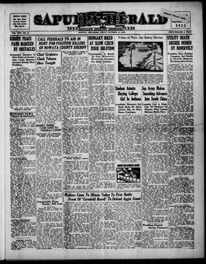 Primary view of Sapulpa Herald (Sapulpa, Okla.), Vol. 24, No. 37, Ed. 1 Friday, October 14, 1938
