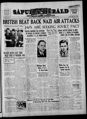 Primary view of Sapulpa Herald (Sapulpa, Okla.), Vol. 26, No. 23, Ed. 1 Saturday, September 28, 1940