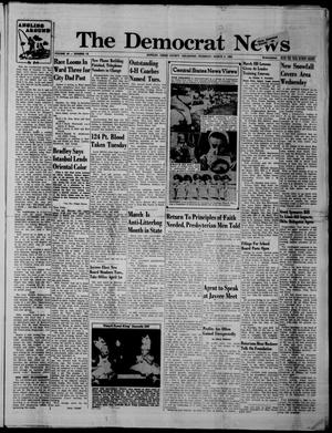Primary view of object titled 'The Democrat News (Sapulpa, Okla.), Vol. 50, No. 19, Ed. 1 Thursday, March 3, 1960'.