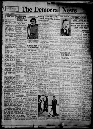 Primary view of object titled 'The Democrat News (Sapulpa, Okla.), Vol. 25, No. 9, Ed. 1 Thursday, January 9, 1936'.