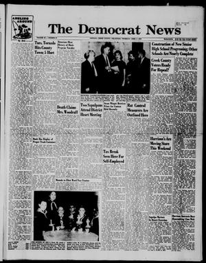 Primary view of object titled 'The Democrat News (Sapulpa, Okla.), Vol. 49, No. 23, Ed. 1 Thursday, April 2, 1959'.