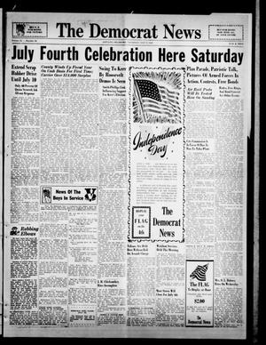 Primary view of object titled 'The Democrat News (Sapulpa, Okla.), Vol. 31, No. 34, Ed. 1 Thursday, July 2, 1942'.