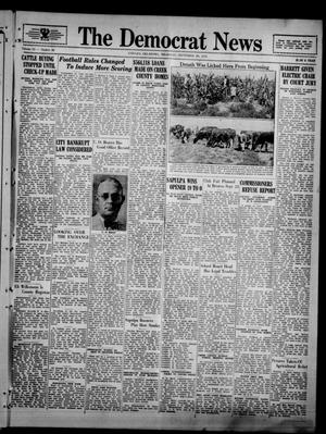 Primary view of object titled 'The Democrat News (Sapulpa, Okla.), Vol. 23, No. 45, Ed. 1 Thursday, September 20, 1934'.