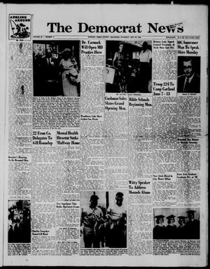 Primary view of The Democrat News (Sapulpa, Okla.), Vol. 49, No. 31, Ed. 1 Thursday, May 28, 1959