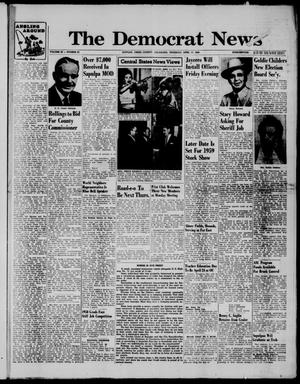 Primary view of object titled 'The Democrat News (Sapulpa, Okla.), Vol. 48, No. 25, Ed. 1 Thursday, April 17, 1958'.