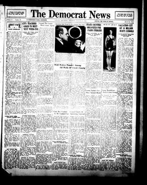 Primary view of The Democrat News (Sapulpa, Okla.), Vol. 21, No. 41, Ed. 1 Thursday, August 25, 1932