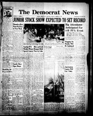 Primary view of The Democrat News (Sapulpa, Okla.), Vol. 46, No. 17, Ed. 1 Thursday, February 23, 1956