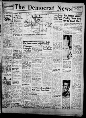 Primary view of The Democrat News (Sapulpa, Okla.), Vol. 38, No. 1, Ed. 1 Thursday, November 20, 1947