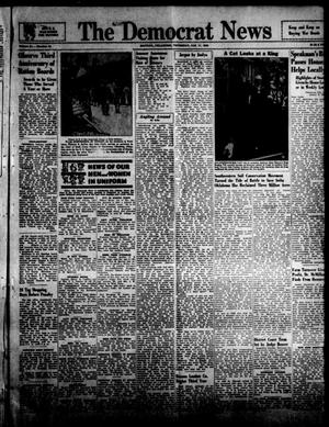 Primary view of object titled 'The Democrat News (Sapulpa, Okla.), Vol. 34, No. 10, Ed. 1 Thursday, January 11, 1945'.
