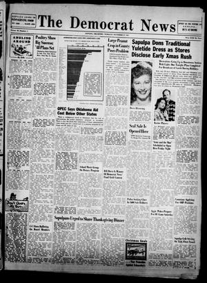 Primary view of The Democrat News (Sapulpa, Okla.), Vol. 38, No. 2, Ed. 1 Thursday, November 27, 1947