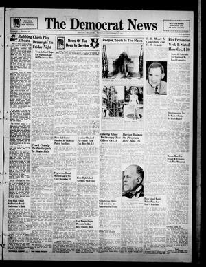 Primary view of object titled 'The Democrat News (Sapulpa, Okla.), Vol. 31, No. 45, Ed. 1 Thursday, September 17, 1942'.