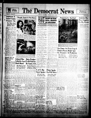 Primary view of The Democrat News (Sapulpa, Okla.), Vol. 32, No. 52, Ed. 1 Thursday, November 4, 1943