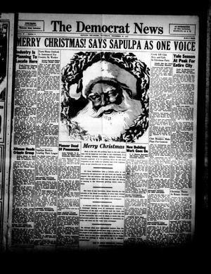 Primary view of The Democrat News (Sapulpa, Okla.), Vol. 27, No. 7, Ed. 1 Thursday, December 23, 1937