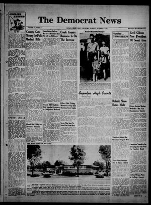 Primary view of object titled 'The Democrat News (Sapulpa, Okla.), Vol. 44, No. 7, Ed. 1 Thursday, December 17, 1953'.