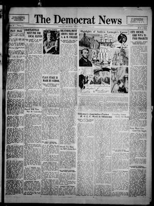 Primary view of The Democrat News (Sapulpa, Okla.), Vol. 25, No. 2, Ed. 1 Thursday, November 21, 1935