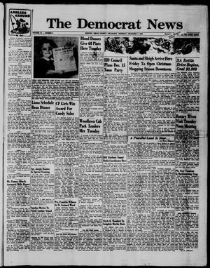 Primary view of The Democrat News (Sapulpa, Okla.), Vol. 50, No. 6, Ed. 1 Thursday, December 3, 1959