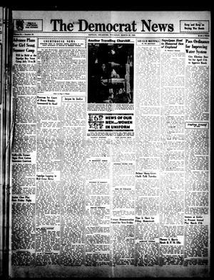 Primary view of The Democrat News (Sapulpa, Okla.), Vol. 34, No. 20, Ed. 1 Thursday, March 22, 1945
